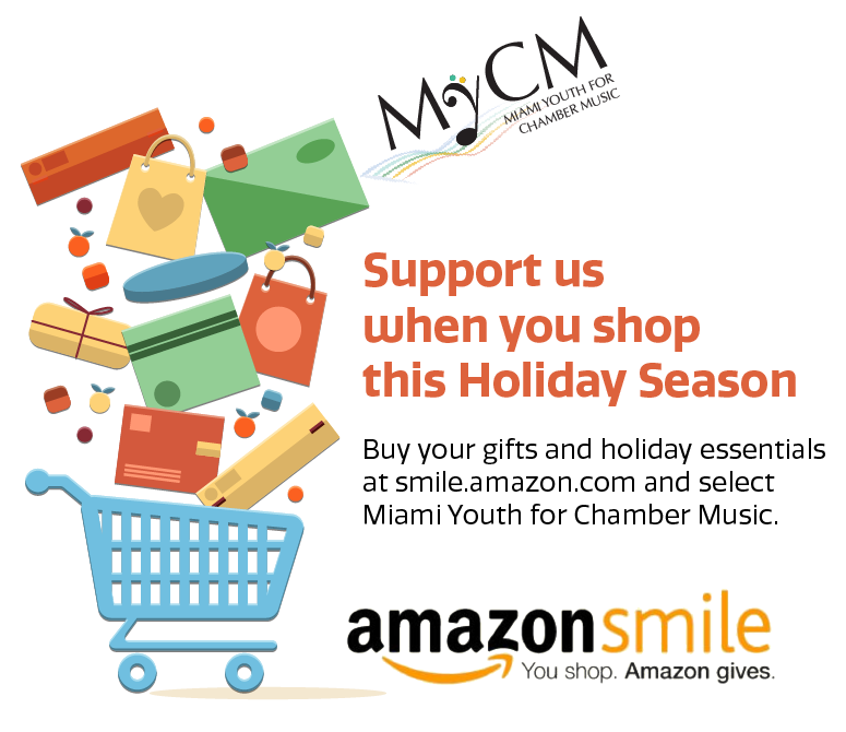 Shop at Amazon Smile and help MyCM